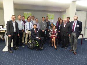 Groupe photo: partenaires HBB4ALL & Conseil Consultatif